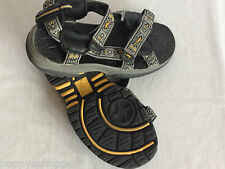 Gecko Hawaii sport sandals Shakes leather men's 7 Adjustable straps mint