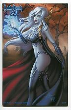 Lady Death Pin Ups #1 Autumn Jeweled Variant Dawn McTeigue Cover Signed /69