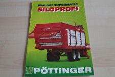 128209) Pöttinger Siloprofi Prospekt 12/1986