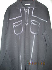 "DESIGNER ""BILANCIONI"" ITALY MEN WOOL SWEATER,  SIZE EU-56, US-XL"