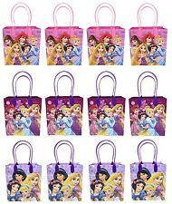 12pc Disney Princess Goodies bag Favor Birthday Party Loot Gift Bags