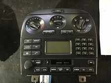 JAGUAR X TYPE 01-09 DASHBOARD RADIO CASSETE DISPLAY PANEL 1X4318K876 AB