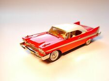 "Plymouth Fury hard top Coupe 1958 ""Christine"", nn a mano Handmade en 1:43!"