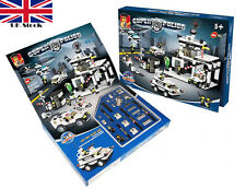 Super police Force Police Building Bricks Blocks 890 Pieces Toy Gift