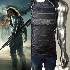 Captain America 3 Civil War Winter Soldier Bucky Barnes Armor Arm Cosplay PVC