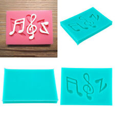 Silicone Music Note Syncopated Fondant Mold Cake Sugarcraft Mould Decor