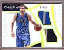2014-15 IMMACULATE DIRK NOWITZKI 5 COLOR DUAL PATCH 04/10!!