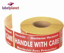 Handle With Care Package/Packaging Postage Self-Adhesive Labels Label Planet®