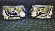 NEW Pair of Discovery AFS Xenon Headlights with LED Running Genuine UK Spec