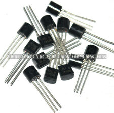 50Pcs BC547 TO-92 NPN 45V 0.1A Transistor New CF
