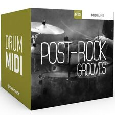 TOONTRACK Post Rock- MIDI-Drum-Grooves Pattern EZdrummer & Superior Drummer