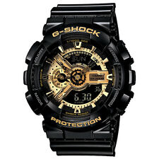 Casio G-Shock GA110GB-1A Analog Digital Dial Gold and Black Resin Men's Watch