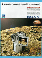 BELLEU999-PUBBLICITA'/ADVERTISING-1999- SONY PC1