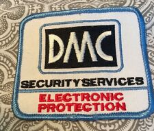 "DMC Security Services Electronic Protection Patch 3 1/4""  Movie Prop #69"