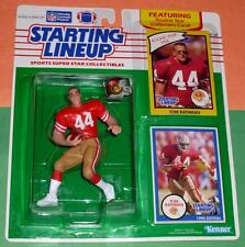 1990 TOM RATHMAN #44 San Francisco 49ers Rookie - low s/h - sole Starting Lineup