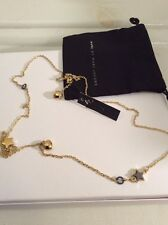 MARC BY MARC JACOBS Star Medley Strand Necklace 30 Inch $88 With Pouch #101
