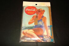 "COCA-COLA""GIRL IN BATHING SUIT"" NEW 3 3/4"" X 5"" SINGLE SWITCH PLATE"