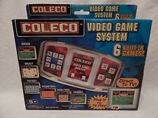 BRAND NEW Coleco Video Game System 6 Built-in Games! Direct to TV