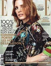 ELLE France #3694 7/October/2016 JESSICA CHASTAIN Melina Gesto DAGA ZIOBER @New@