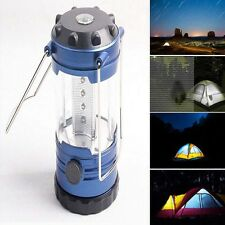12 LED Portable USB Rechargeable Lantern Outdoor Camping Hiking Lamp Night Light