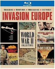 Invasion Europe - World War II Collections (Blu-ray) - Brand New, Factory Sealed