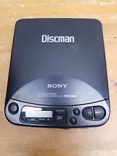 Vintage Sony Discman Personal CD Player D-121 Mega Bass 1993 Tested and Working