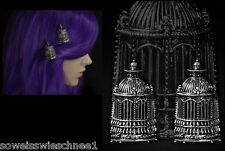 Restyle Haarspange Käfig Hairclip Birdcage Gothic Lolita Steampunk Haarclips WGT