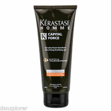 KERASTASE HOMME CAPITAL FORCE ULTRA FIXING DENSIFYING GEL 200ml or 6.7 fl oz