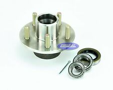 "Boat Trailer Stainless Steel Hub Kit 5 Lug 1 1/16"" x 1 3/8"" 3,500 lb Axle"