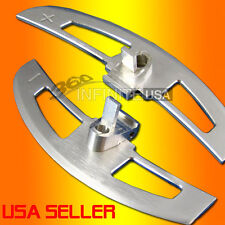 SMG SHIFT PADDLE  ALUMINUM shifter paddles FOR BMW  E46 M3 - SILVER