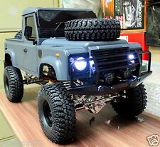 * 313 mm * 1/10 Land Rover Defender D90 Pick Up Truck Hard Plastic Body Kit NIB