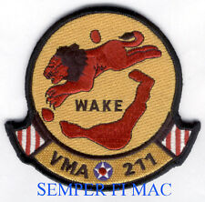 VMA-211 AVENGERS PATCH AUTHENTIC US MARINES SQUADRON MAW MCAS PIN UP PILOT CREW