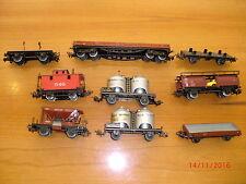 Märklin / Spur H0 / Güterwagen Konvolut von 9 Stück, siehe Bilder   TOP    # 138