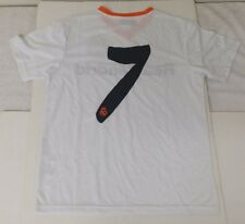 Real Madrid Kid's Jersey Color White Size YL NWOT Official By Rhinox