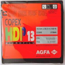 AGFA COPEX HDP 13 BULK 16mm film 30.5 METRES EXPIRED LOMO RARE 16mm FILM