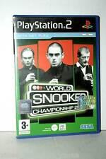 WORLD SNOOKER CHAMPIONSHIP 2005 BILIARDO GIOCO USATO PS2 ED INGLESE MS1 35581