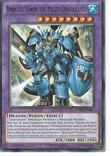 YU-GI-OH: DINOSTER POWER, THE MIGHTY DRACOSLAYER -  RARE - BOSH-EN046 1ST ED