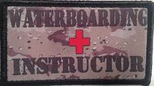 Waterboard Instructor Camo Subdued Colors  Patches - 2 patch Hook & Lo