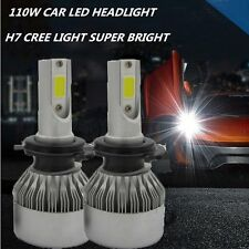 2PCS Car 110W 20000LM KIT H7 HID White 6000K LED Conversion Headlight Bulb Light