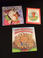 Lot Books Valentine's Day Groundhog Day Hugs I Love You So 10 Grouchy Groundhogs