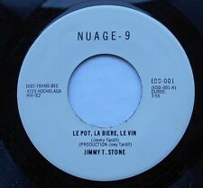 JIMMY T. STONE Le Pot... NM- CANADA '70s FUNK POP OBSCURE PRIVATE 45 LISTEN!!