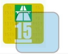 Haftfolie Vignette Feinstaubplakette Umweltplakette Trägerfolie transparent