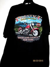 HARLEY-DAVIDSON XL BLACK  PRESTIGE ROCKLAND COUNTY NEW YORK  TEE SHIRT -$4.50