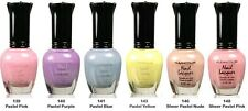 6 kleancolor nail polish  - Pastel set