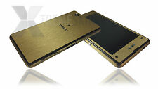 Brushed Metal Skin For SONY XPERIA Z1 & Z1 COMPACT Decal Wrap Cover Case