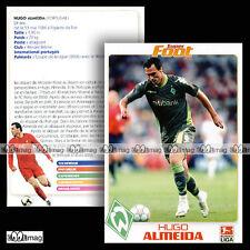 HUGO ALMEIDA (WERDER BRÊME / Sportverein Werder Bremen) - Fiche Football SF