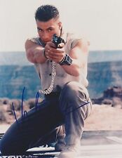 "JEAN-CLAUDE VAN DAMME - SUPERB SIGNED COLOUR 10x8"" PHOTOGRAPH - COA"
