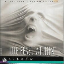 The Beast Within, A Gabriel Knight Mystery 6 Disc CD-ROM Sierra 1995