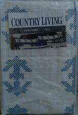 Country Living Euro Sham - Aurora Pattern - BRAND NEW IN PACKAGE - Embroidered