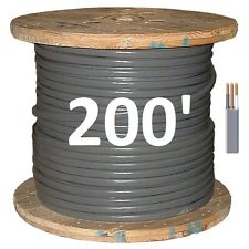 8/2 UF (200') (Underground Feeder) Direct Burial Copper Conductors 3 Wire/Cable